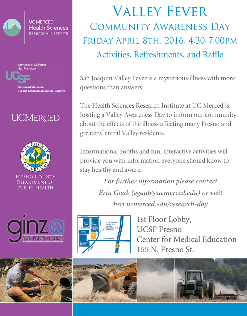 Valley Fever Day Event Flyer
