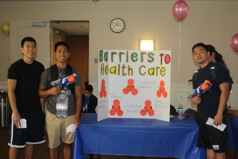 UCM students learn about Valley Fever by shooting down barriers to healthcare